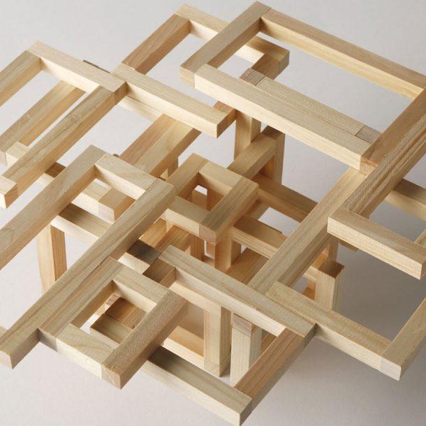 住宅の計画 / 立体構造の製作