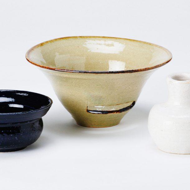 陶土による 立体造形と絵付け、焼成