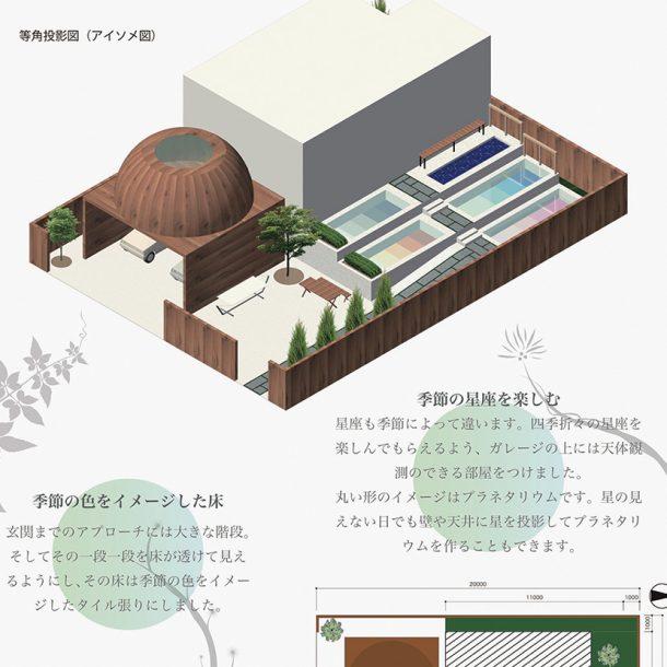 外構デザイン(平面図・3Dパース)