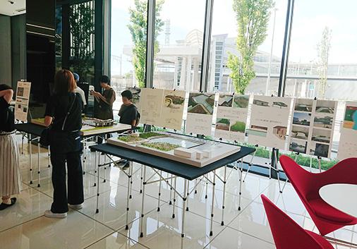 4年SD領域/中川運河再開発計画の提案展示 in 中京テレビ